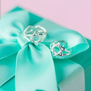 Sterling Silver Star Earring Cuff Hanukkah NEW NWT